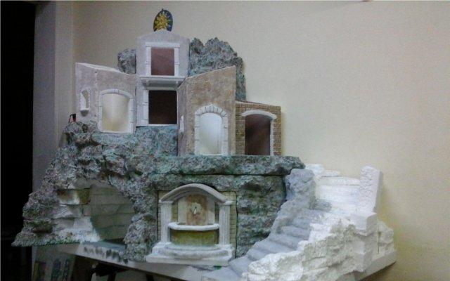 Creare acqua nel presepe videocorsi per diorami e presepi - Creare una casa ...
