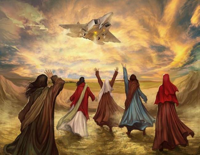 """""""Oí el ruido de sus alas cuando ellos avanzaban: era como el ruido de aguas torrenciales, (…) como el estruendo de una multitud"""""""