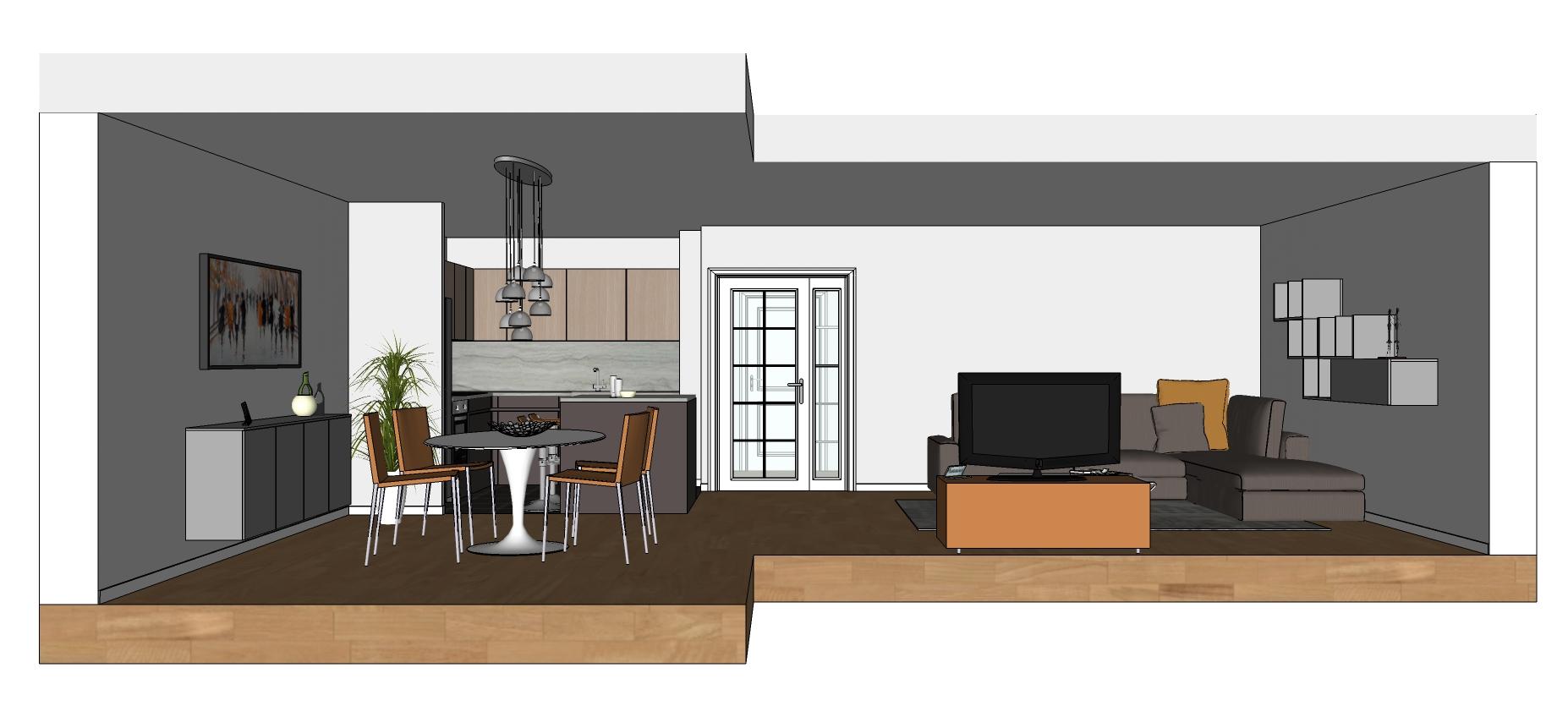 5 errori da evitare come creare un piccolo open space di 25 mq arredando cucina e soggiorno. 3107 Open Space Diotti Com