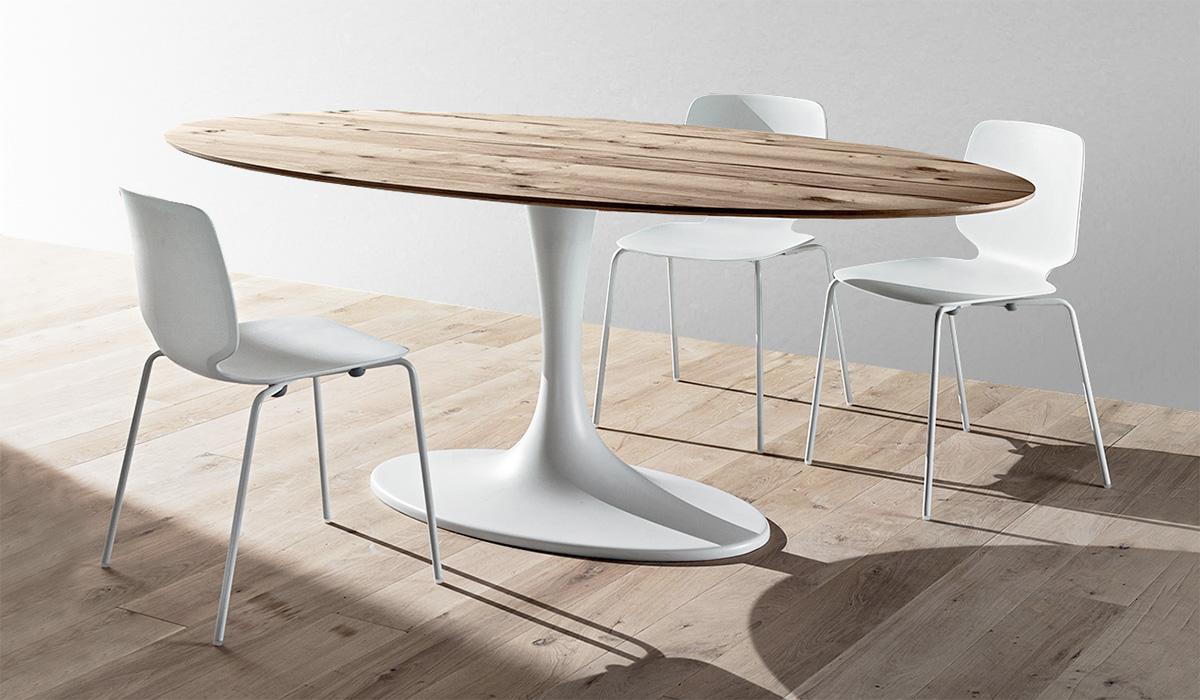 tavolo da pranzo grande in legno massiccio e noce di sheraton revival. Abbinare Tavolo E Sedie Diotti Com