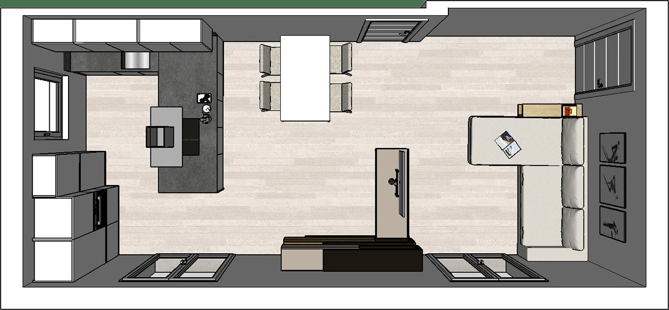 Arredare open space 50 mq. How To Design An Open Plan Kitchen Diotti Com