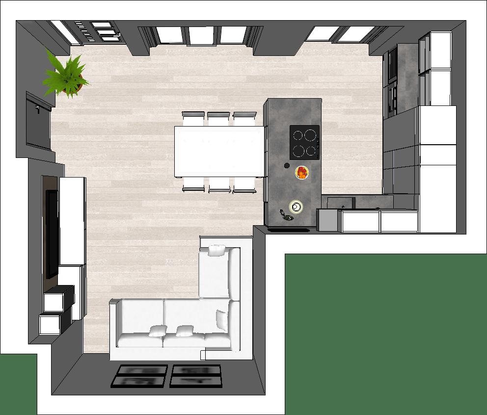 Un unico ambiente ospita cucina e soggiorno: Come Arredare Una Cucina Open Space Guide Diotti Com