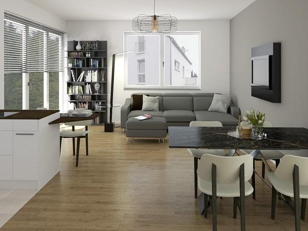 (ad esempio un open space di 25 mq o di metratura simile),. Idee I Nostri Progetti Cucina E Soggiorno In Un Open Space Di 30 Mq Diotti Com