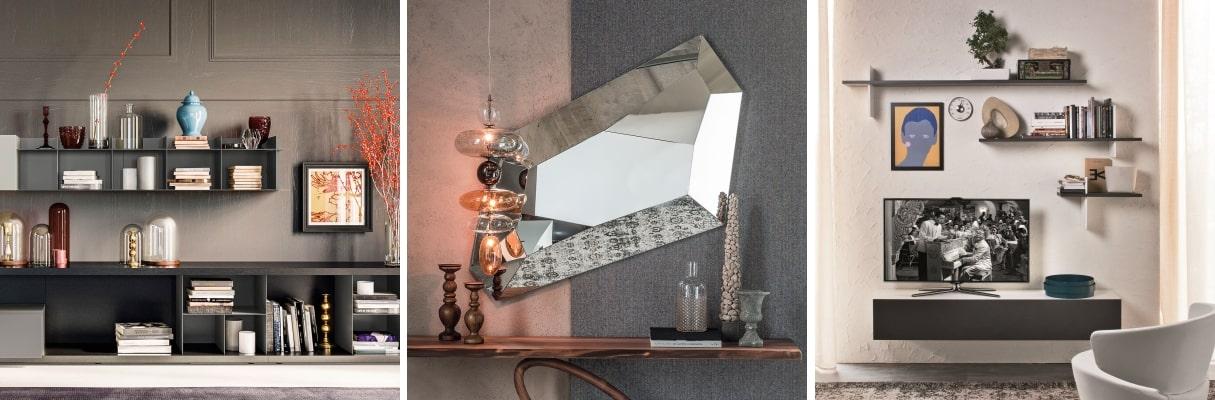 Se ad esempio hai un soggiorno in stile classico, meglio dipinge le pareti di bianco o avorio. Idee 73 Idee Per Arredare Le Pareti Del Soggiorno Diotti Com