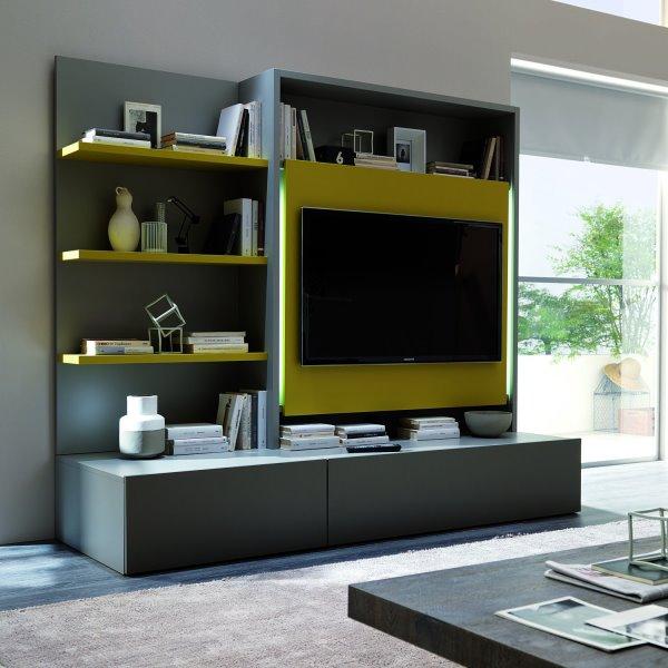 La pareti attrezzate moderne soggiorno arredano con stile e versatilità il salotto. Idee 10 Pareti Attrezzate Per Arredare Un Soggiorno Moderno Diotti Com