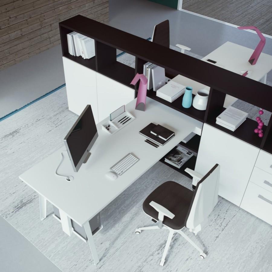 Visualizza altre idee su scrivania, scrivania libreria, libreria. Idee Il Progetto Di Chiara Libreria A Ferro Di Cavallo Con Scrivania A Penisola Diotti Com