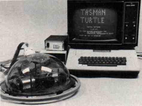 Apple II con tartaruga Logo