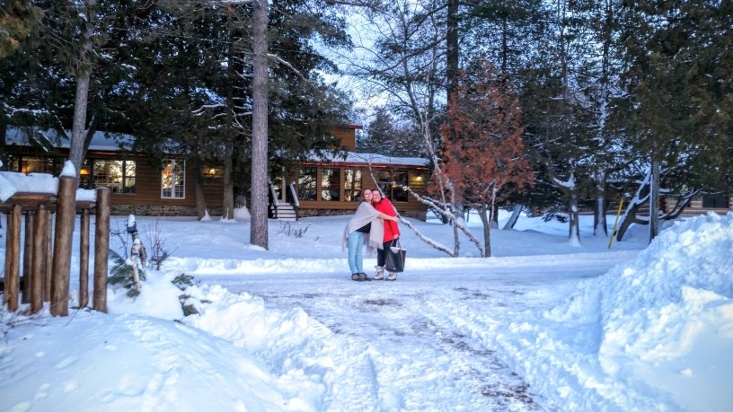 friends at Cedar Grove Lodge