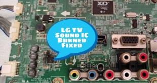 tv sound problem repairing