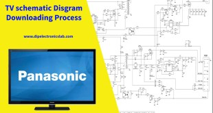 tv schematic diagram