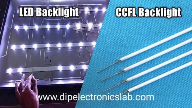 CCFL backlight and LED Backlight