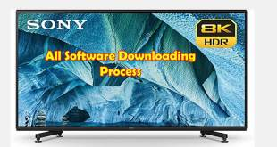 sony tv update software downloading process