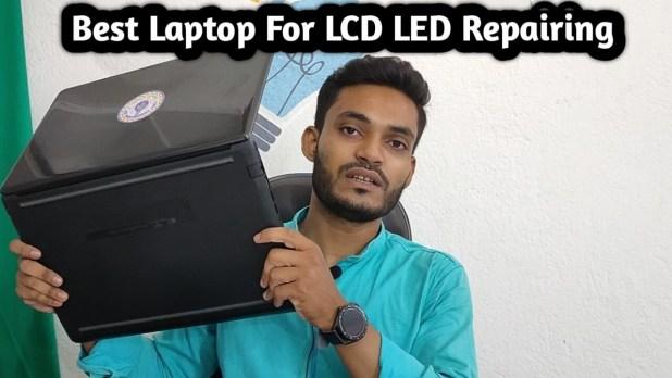 Laptop for LCD LED Repairing