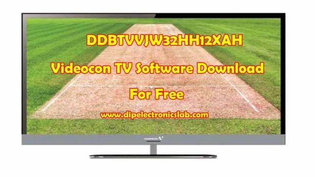 DDBTVVJW32HH12XAH Videocon TV Software