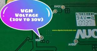 TV panel vgh voltage