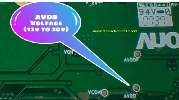 What is AVDD Voltage