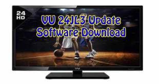 VU 24JL3 Update Software download