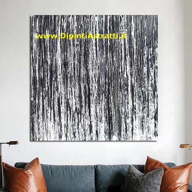 Quadri astratti bianco e nero dipintiastratti for Dipinti a mano su tela