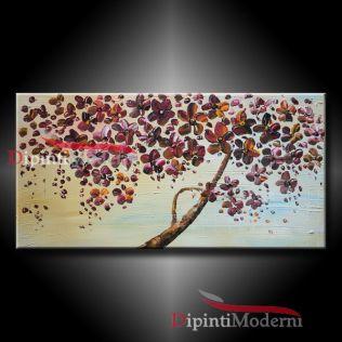 dipinti albero fiorito