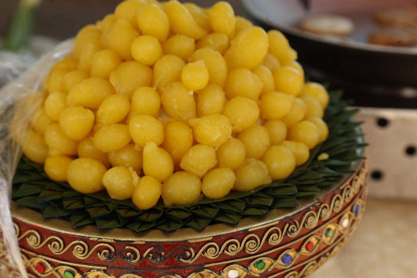 Thong Yip, doce feito a base de gemas de ovos