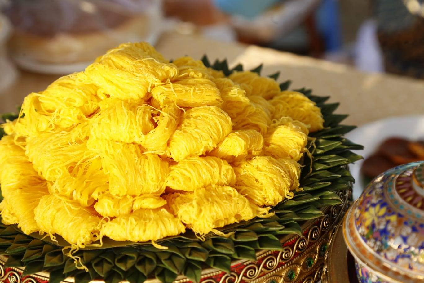 Foi Thong, sobremesa similas aos Fios de Ovos do Brasil
