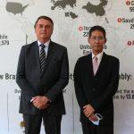 Presidente Bolsonaro e Embaixador Myo Tint, de Myanmar