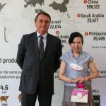 Presidente Bolsonaro e Embaixadora Nitivadee Manitkul, da Tailândia