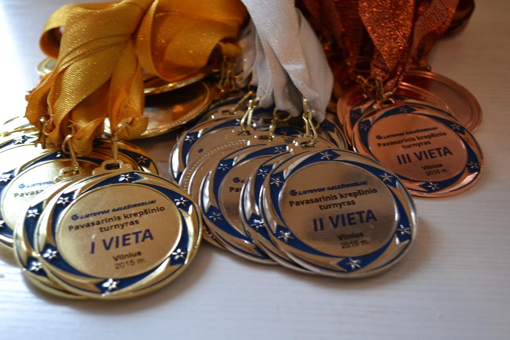 70mm medaliai