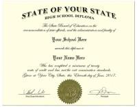 Ontario High School Diploma Template - high school fake ...