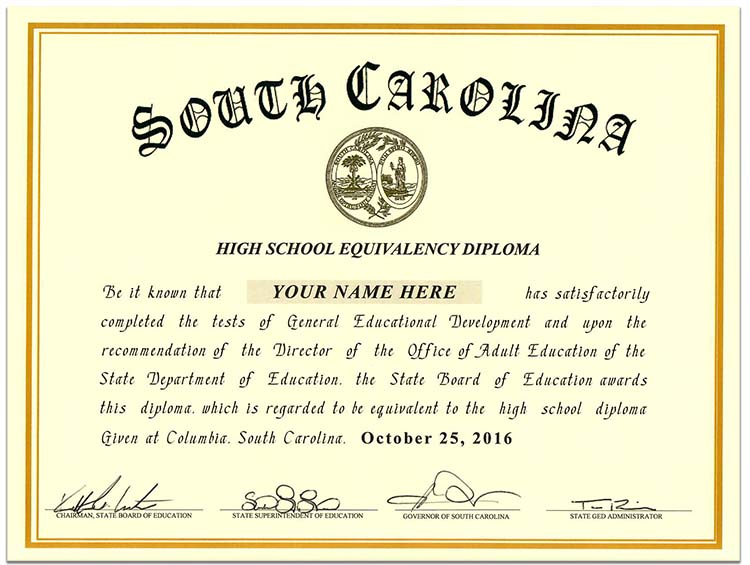 Fake Birth Certificates South Carolina