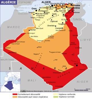 Map of Algeria (Source » France, June 2021)