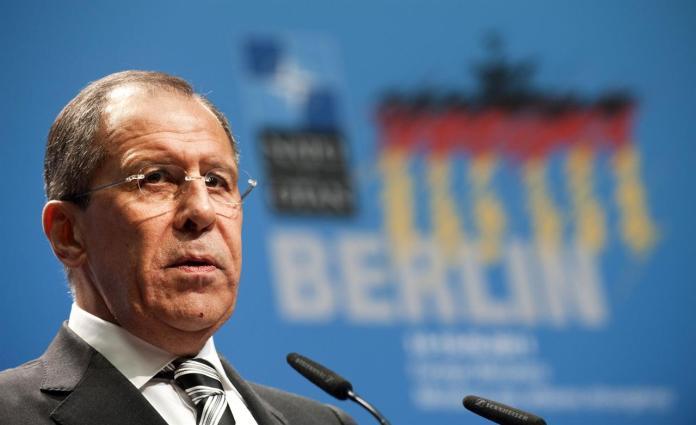 Lavrov Libia