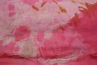 Pink snow dye harem cloth