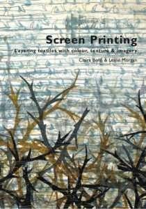 Screen printing book