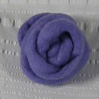 Solid Roving, 1-oz ball, Lavender