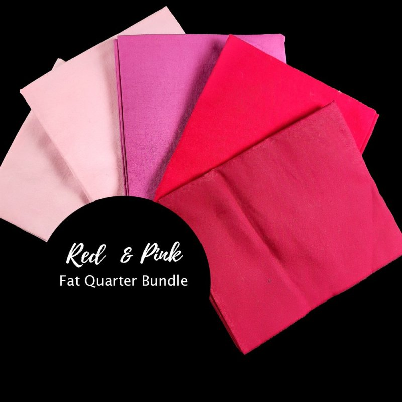 Pink and red fat quarter image