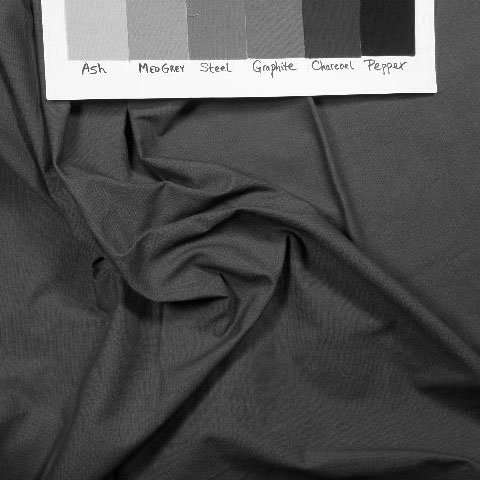 Medium laurel greeny grey solid in greyscale to show value