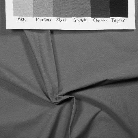 Medium grey-green solid in greyscale to show value