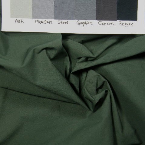 Medium dark grey-green-taupe solid, Pimatex
