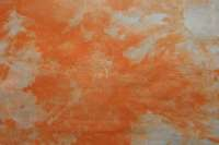 Snowdyed orange broadcloth