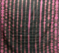 Handstitched shibori fabric