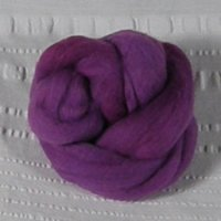 Roving, Merino, 1 oz ball, Berry feb2019