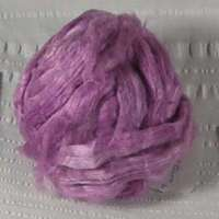 Silk roving med rose