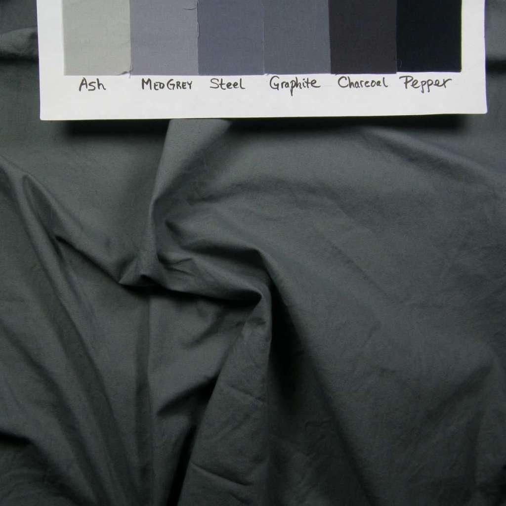 Light evening ink grey fabric