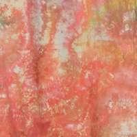 Orange-rose snow-dye full width