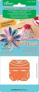 Small gathered kanzashi flower petal maker