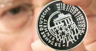 Alemania celebra 25 años de reunificación