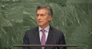 Discurso de Mauricio Macri, Presidente de Argentina