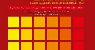 New Volume: Anuario Colombiano de Derecho Internacional