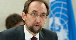 Zeid Ra´ad AI Hussein, Alto Comisionado de la ONU para los Derechos Humanos. Foto ONU: Jean-Marc Ferré